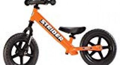 Strider – 12 Sport Balance Bike, Ages 18 Months to 5 Years, Orange