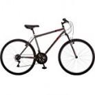 Roadmaster Granite Peak 26″ Men's Mountain Bike (Black and Red)
