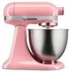 KitchenAid KSM3311XGU Artisan Mini Series Tilt-Head Stand Mixer, 3.5 quart, Guava Glaze
